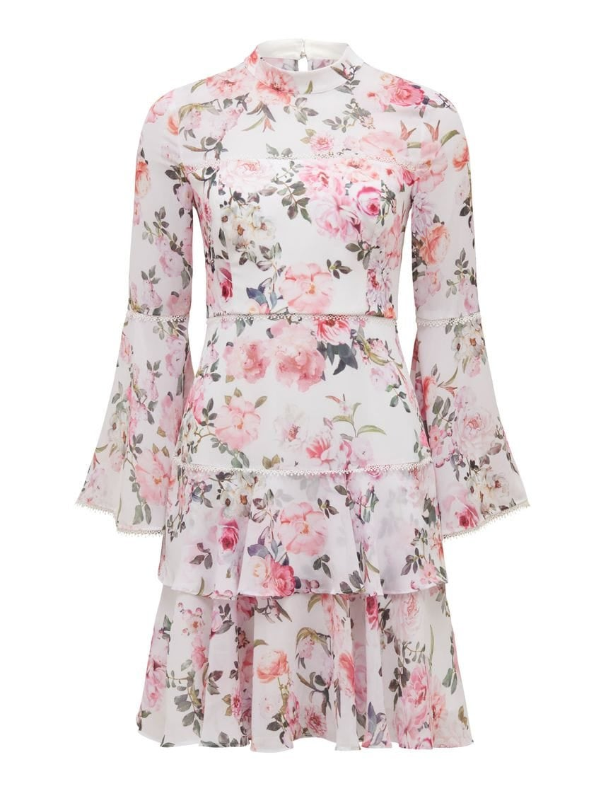 Archie Flare Sleeve Dress
