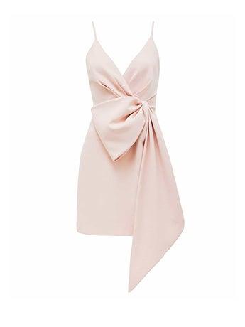 Lindsey Bow Mini Dress