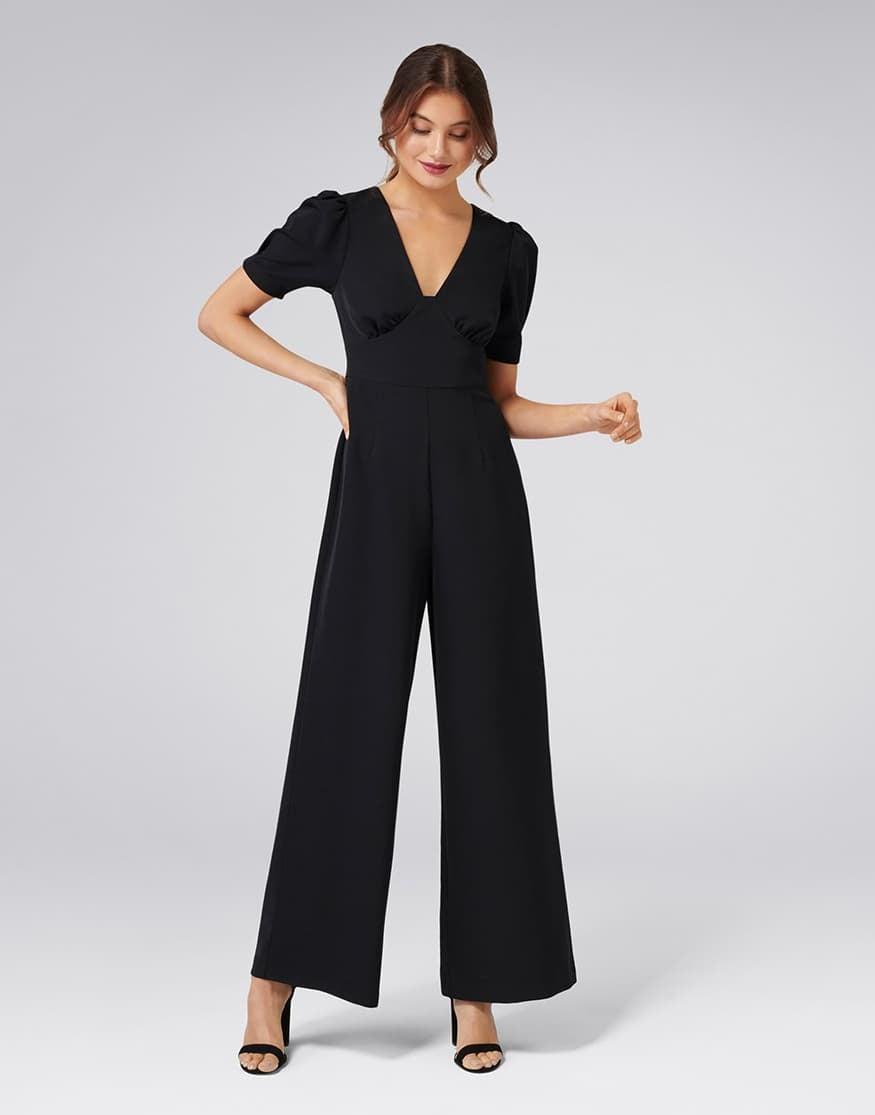 Tulip Short Sleeve Jumpsuit