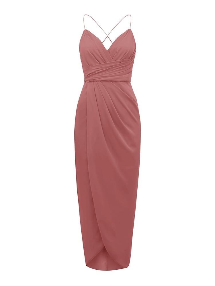 Charlotte Drape Maxi Dress