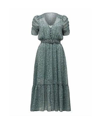 Freya Gather Sleeve Midi Dress
