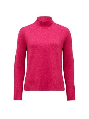 Ruby Stand Neck Essential Jumper