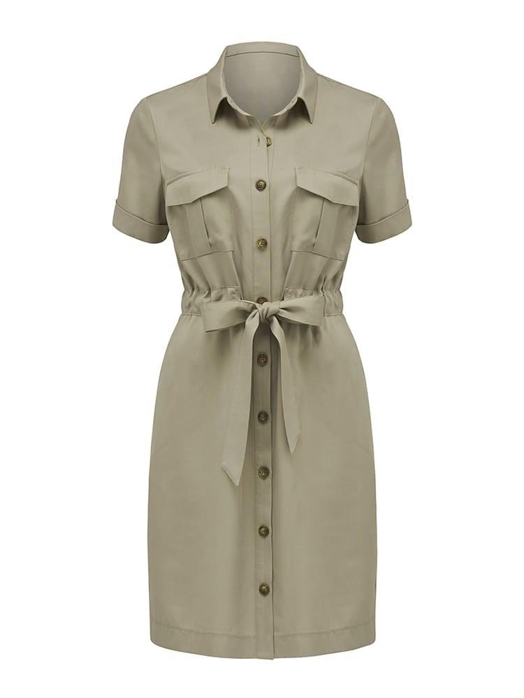 Lilly Safari Mini Dress