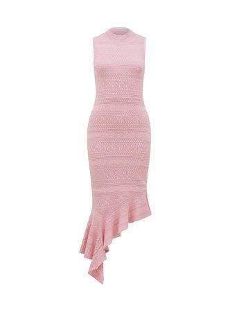 Bianca Stitch Knit Dress
