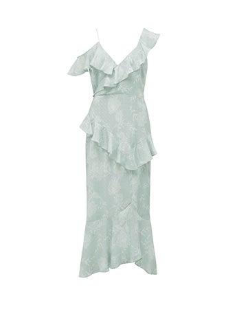 Florence Ruffle Maxi Dress