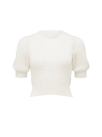 Gigi Short Sleeve Knit Tee