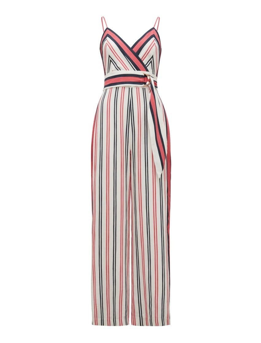 Havana Stripe Jumpsuit