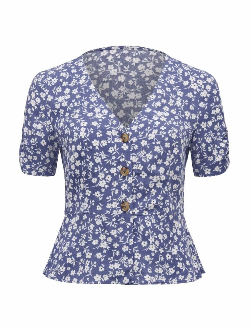 Penny Puff Sleeve Blouse