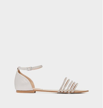 <b>Tayla</b><br>Embellished Vamp Sandals