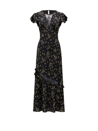 Lara Lace Insert Maxi Dress