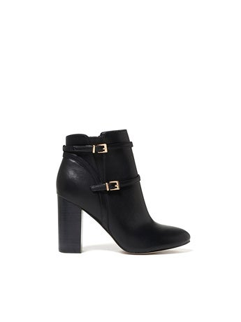 Alexis Double Buckle Boots