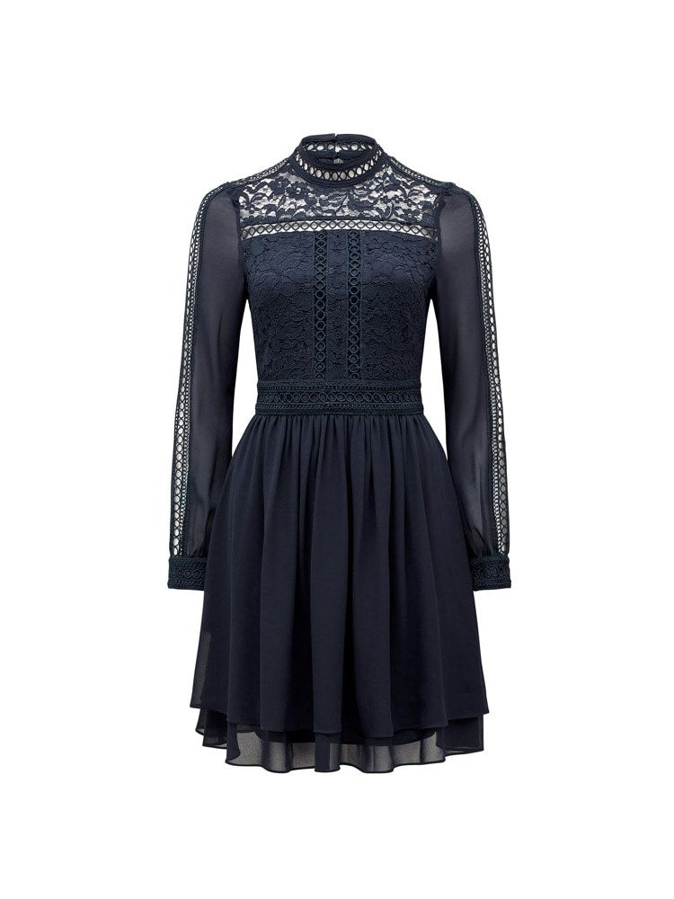 Laurina Lace Skater Dress