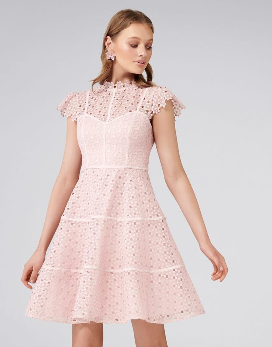 Ella Lace Skater Dress