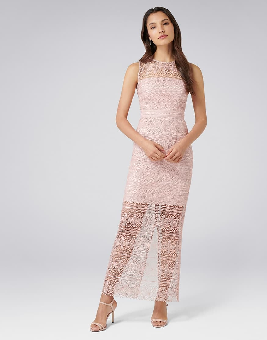 Marnie Lace Column Dress