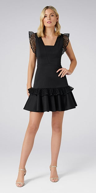 Kady Lace<br />Trim Dress