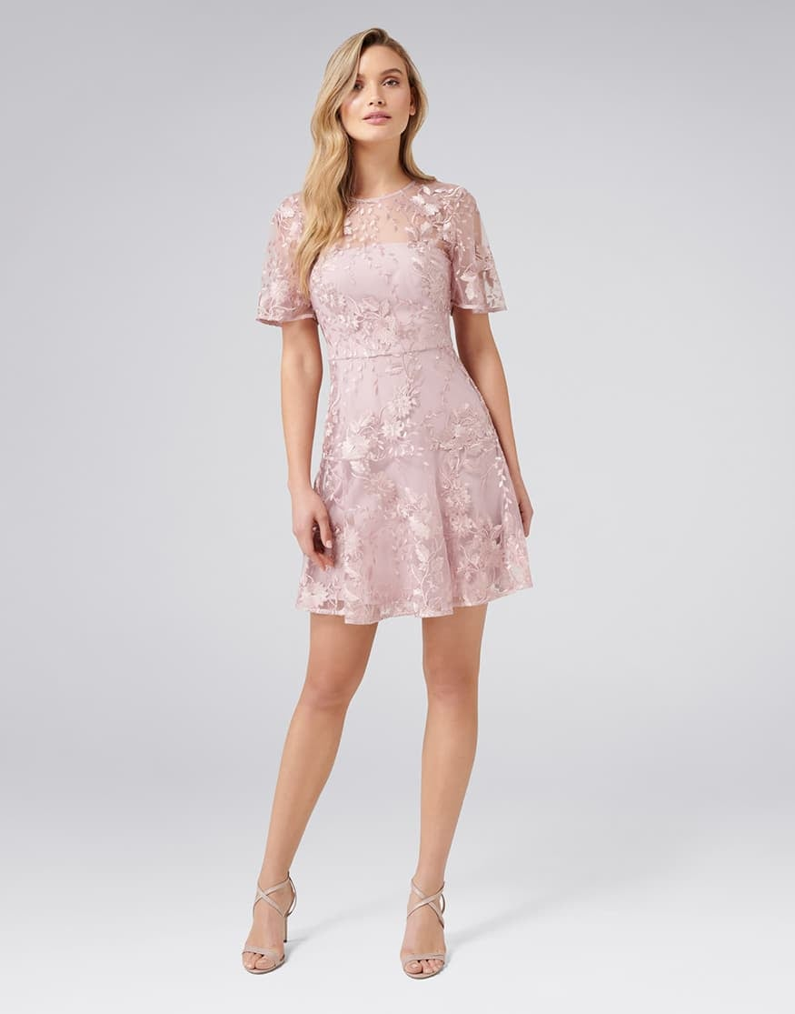 Ashton Embroidered Dress