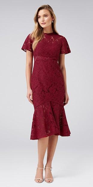 Venice Lace<br />Midi Dress