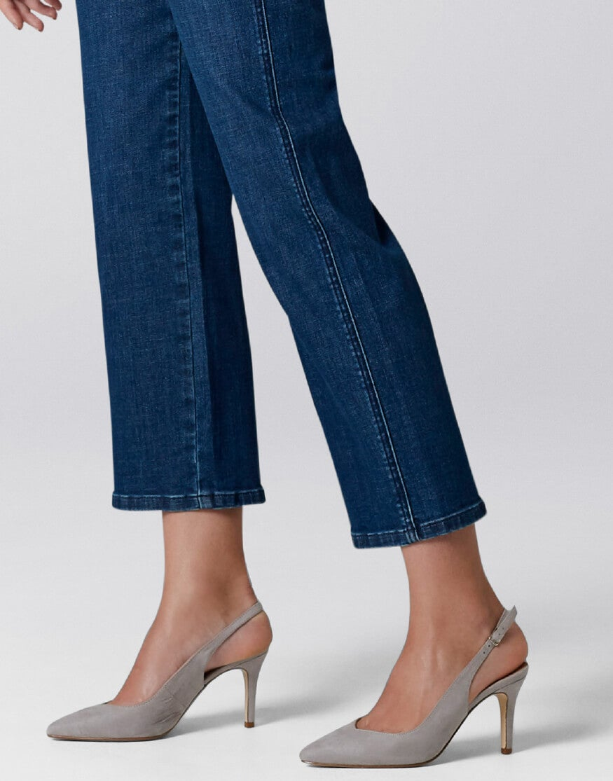 Lottie Cropped WIde Leg Jeans