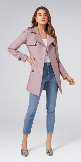 Aaliyah Trench Coat