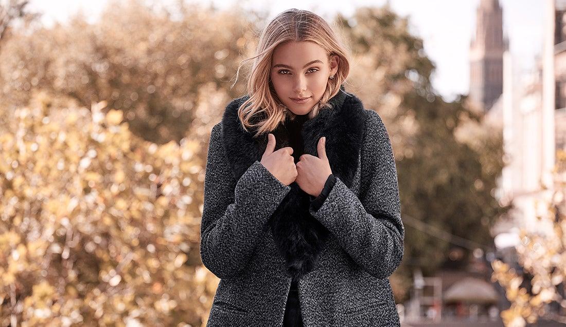 winter shoot - coat