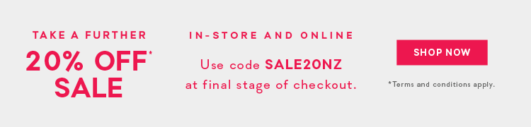 Take A Further 20% Off Sale