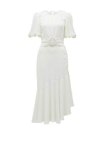 Celeste Puff Sleeve Maxi Dress