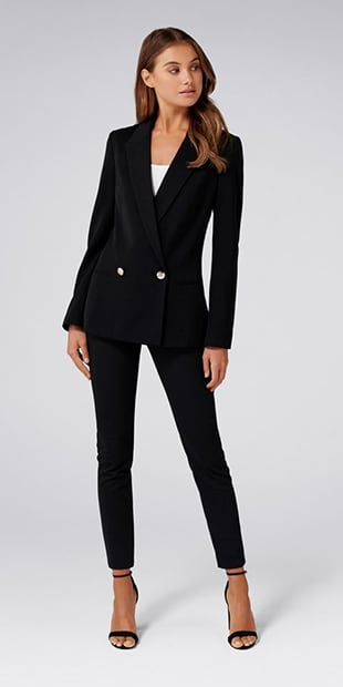 Dora Double-Breasted Blazer