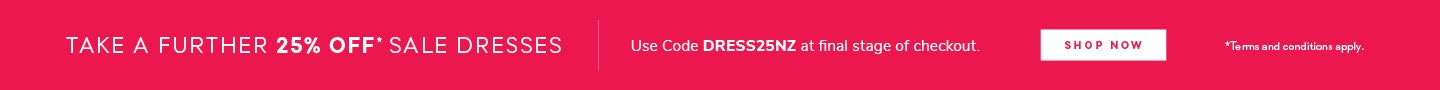 Take A Further 25% Off Sale Dresses