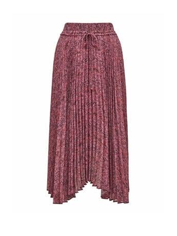 Alexis Pleated Georgette Skirt