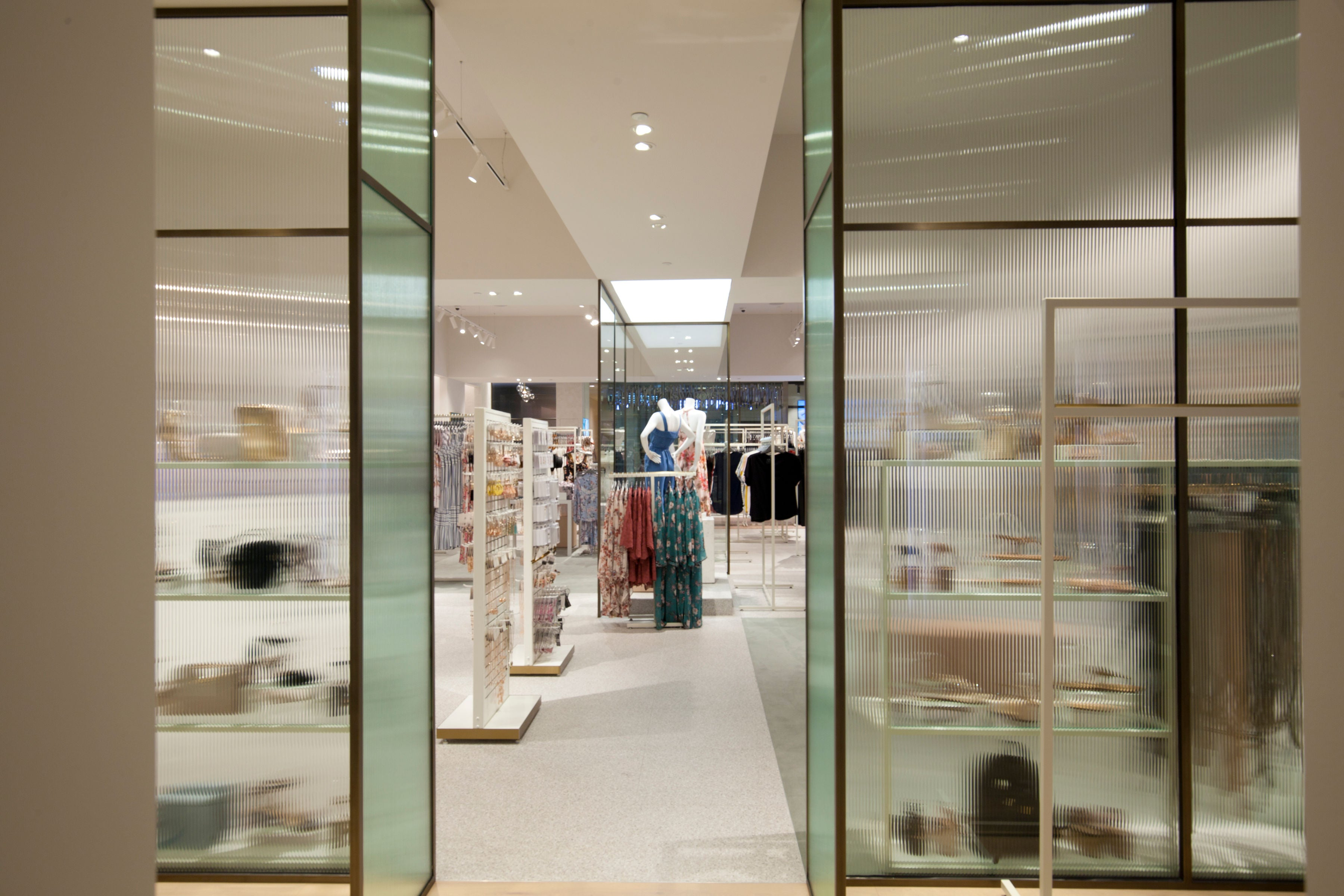 Image of interior of store