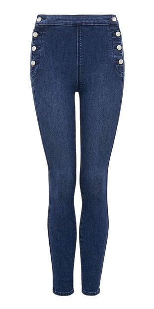 <b>Heidi</b><br />High-Rise Ankle<br />Grazer Jeans