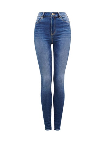 <b>HELENA</b><br>High-Rise Full Length Jeans