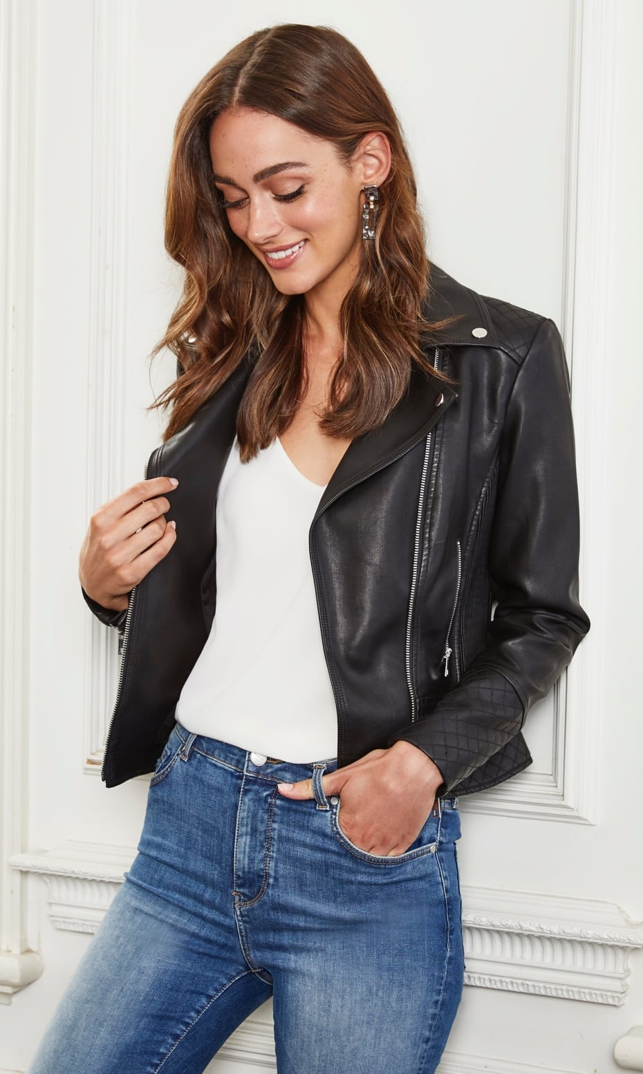 The Leather-Look Jackets