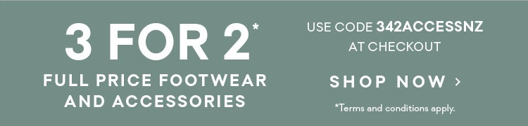 3 for 2 accessories and footwear