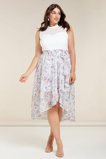<b>Kaya</b><br>Curve Spliced Two-in-One Dress