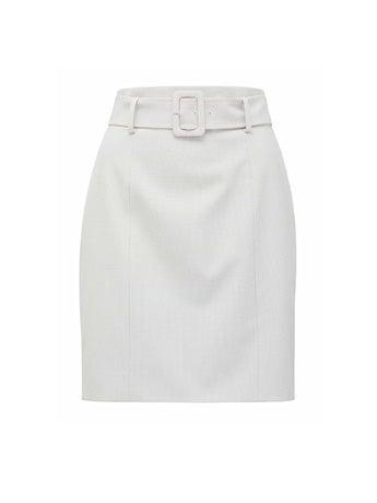 Tessa Fitted Check Mini Skirt