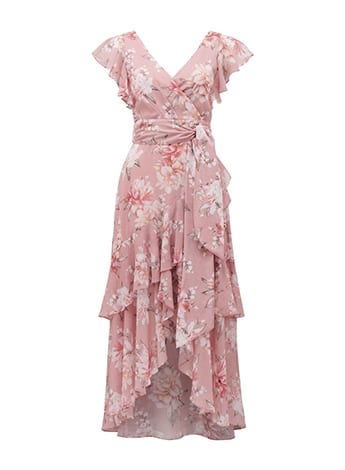 Tiffany Wrap Midi Dress