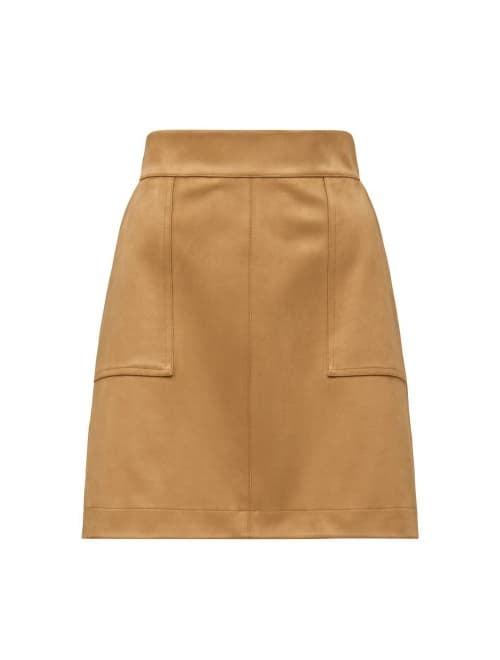 Tara Suedette<br>Mini Skirt