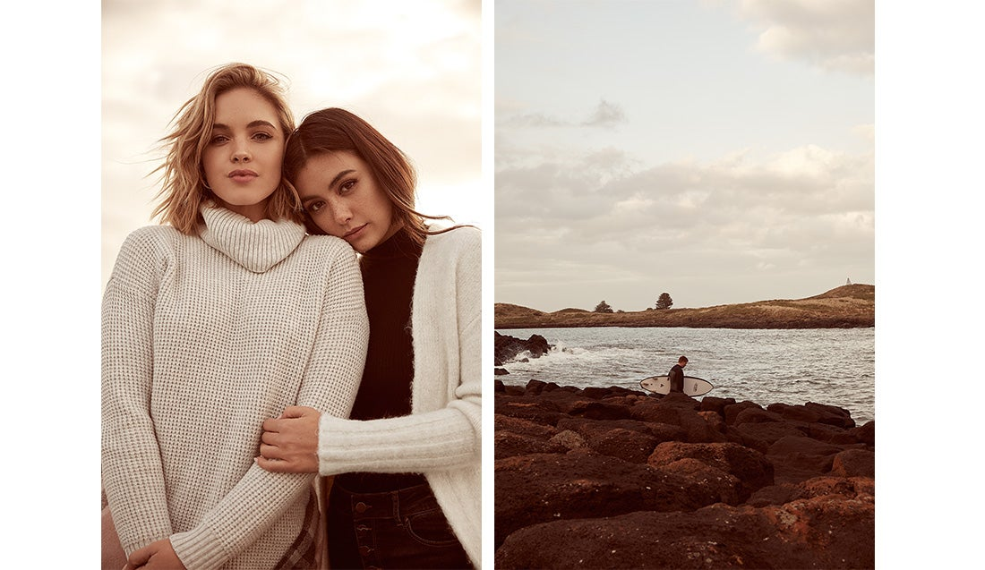 Knits and ocean