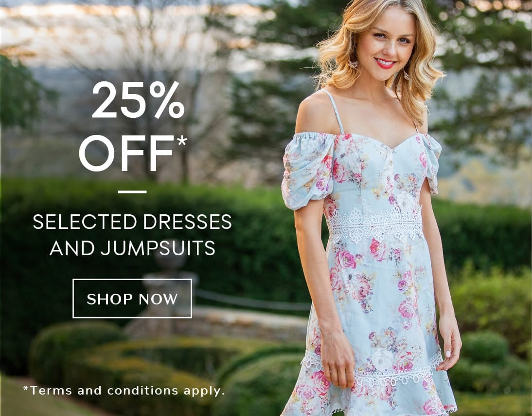 25% off selected styles