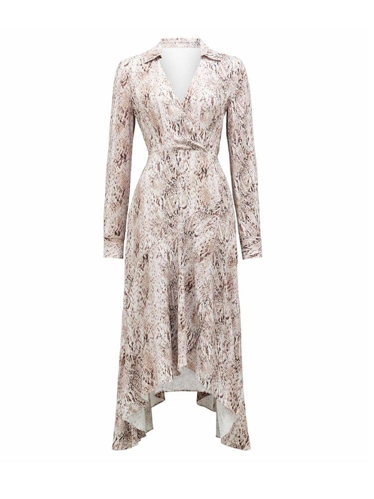 Miranda Animal Shirt Dress
