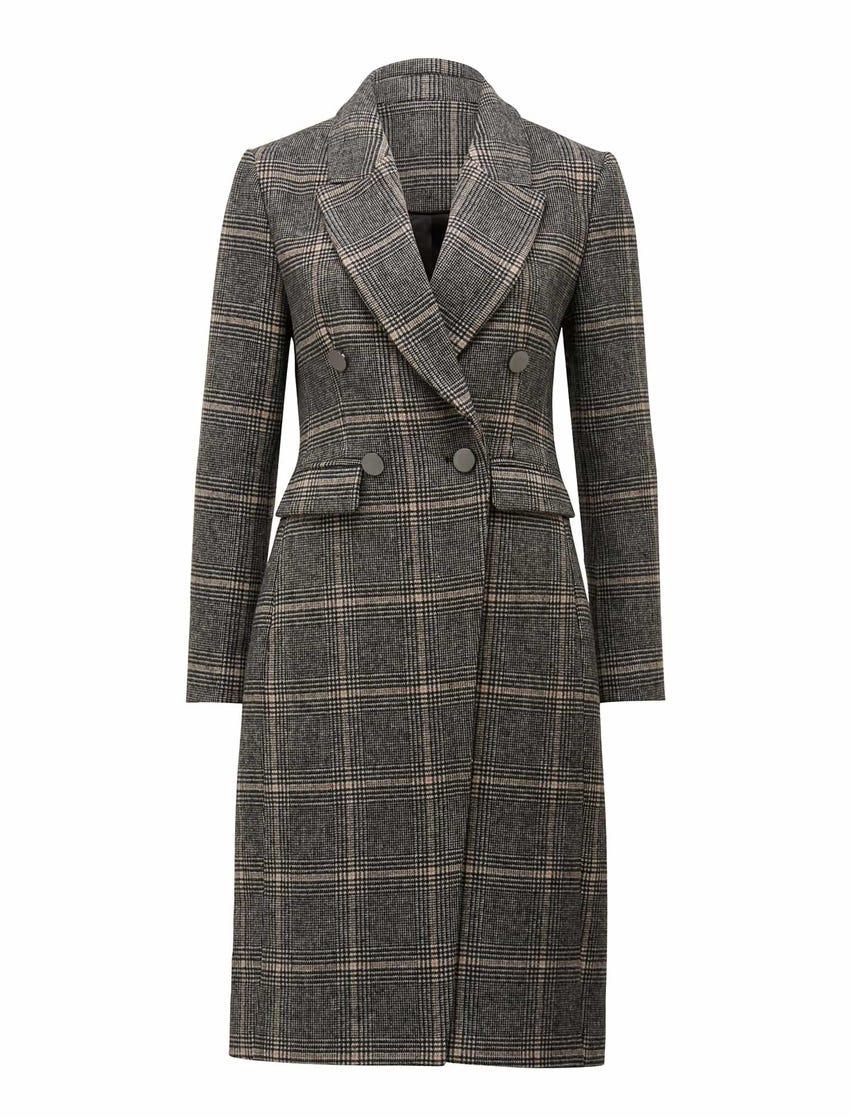 Fran Check Coat