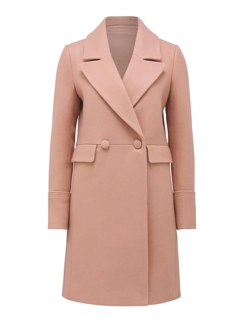 Sophia Long Crombie Coat