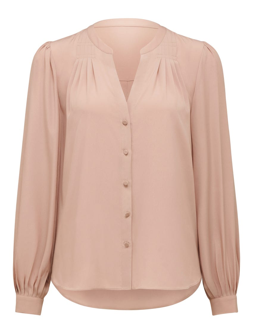Moira Pleat Yoke Shirt