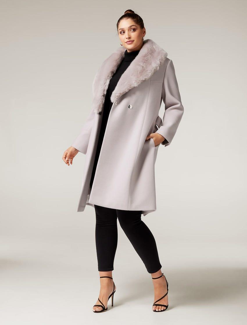 Eve Curve Maxi Wrap Coat