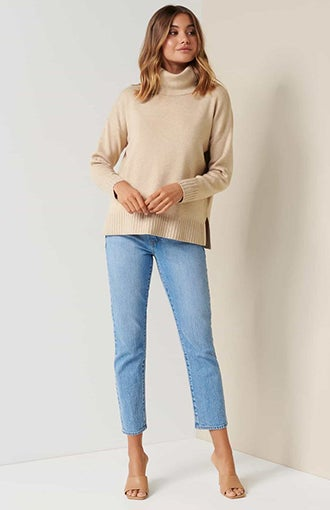 Madison Roll-Neck Jumper