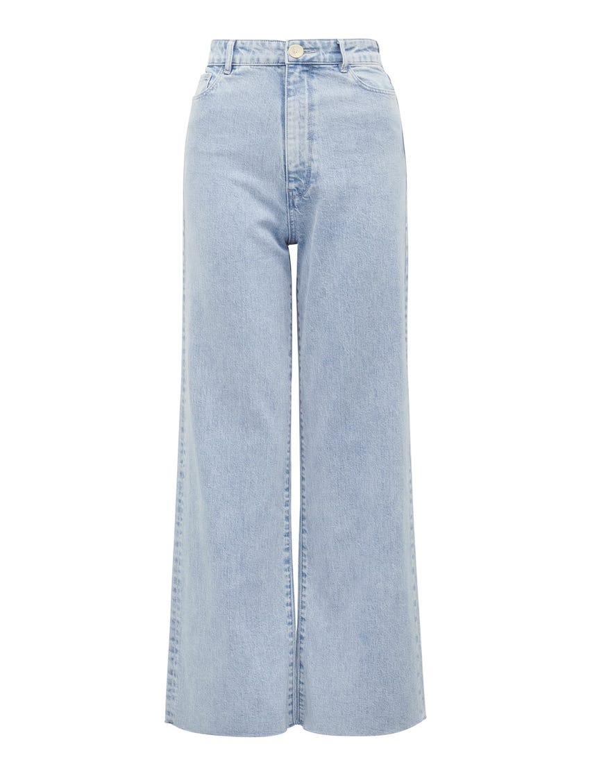 Gia High-Rise Wide-Leg Jeans