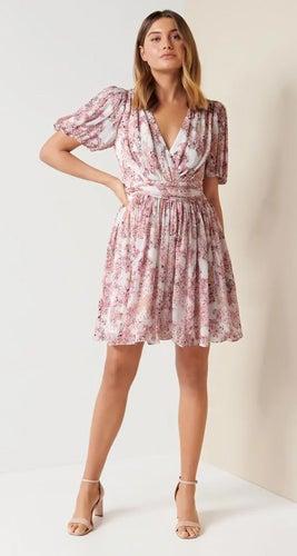 Millie Bubble Hem Mini Dress