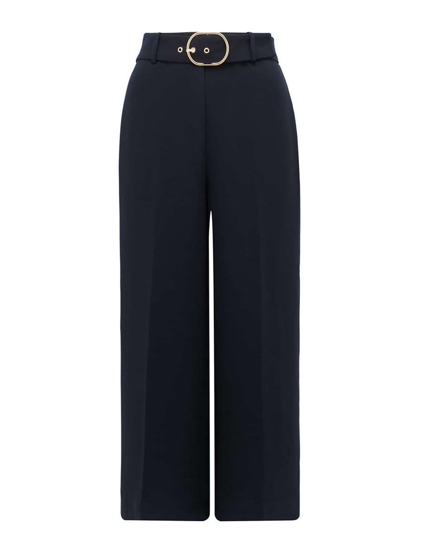 Nadine Belted Culotte Pants