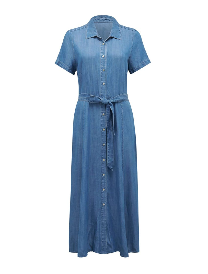 Joni Denim Midi Dress